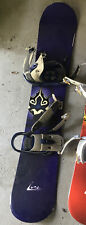 Used condition K2 Luna Women's snowboard With Bindings