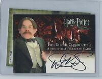 Harry Potter Prisoner of Azkaban Warwick Davis As Choir Conductor Autograph Card