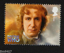 2013 SG 3440 1st Paul McGann (8th Doc - 1996 TV film only) '50 Years of Dr Who'