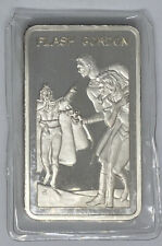 RARE 1974 Heroes Of Comics Flash Gordon 1 Troy Ounce Of Pure .999 Silver Bar