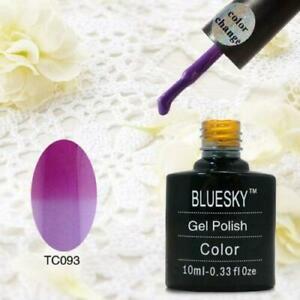 BLUESKY GEL POLISH VIOLET - PINK TC93 NAIL UV LED SOAK OFF, LIMITED SALE AMOUNT