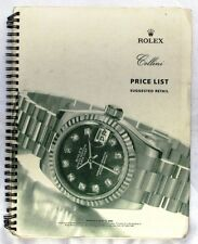ROLEX MASTER PRICE LIST, USA EDITION, AUGUST 2002. 52 PAGES