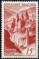 """FRANCE TIMBRE STAMP N°792 """"ABBAYE DE CONQUES 15F"""" NEUF X TB"""