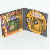 TOMB RAIDERS Raider PS1 Playstation ccc p1
