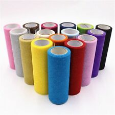 Sparkly Glitter Tulle Roll Sequin Organza Mesh Party Crafts Supplies Accessories