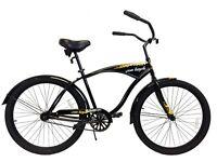 "26"" Beach Cruiser Bike steel frame colorful Aluminum rim bicycle w/mudguard"