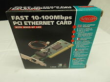 Sitecom Network card, PCI, 10/100 Mbps Fast Ethernet