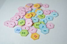 Tropical Tycoon dvd Monopoly game replacement pieces - fortune tokens