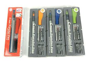 Pilot Parallel Calligraphy Pen Set 1.5 mm, 2.4 mm, 3.8 mm and 6 mm