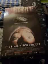 The Blair Witch Project Movie Two-Sided Poster 27 x 40 Fantastic!
