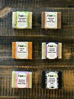 Asatre Handmade Natural Hemp Soap - Make Your Own 6-Pack