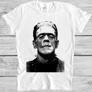 Frankenstein T Shirt Halloween Horror Movie Cult Classic Film Cool Gift Tee M134