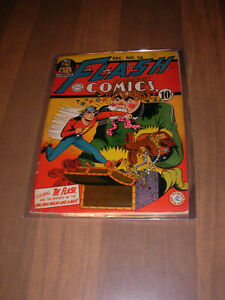 1942 Flash Comics  # 36 DC Comics  Golden  Age