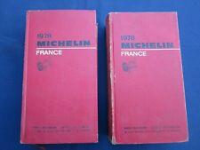 Livre Guide rouge MICHELIN France 1978