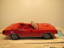 Franklin Mint 1970 Plymouth Red Hemicuda Convertible, 1:24 Scale, Factory Sealed