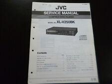 Original Service Manual Schaltplan Fisher JVC V250BK