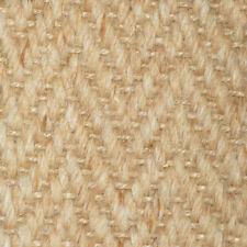 Designer Carpet Wool Herringbone Zig Zag Natural Carpet 2.95m x 1.45m (s20622)