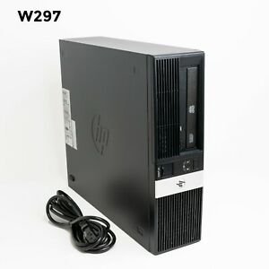 HP rp5800 RETAIL SYSTEM SFF INTEL i3-2120 3.30GHz 4GB 250GB WIN 10 PRO W297