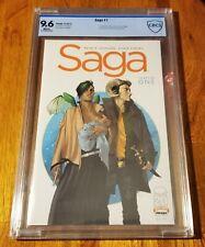 Saga #1 CBCS 9.6 First Printing (Image Comics 2012) 🔥CGC Key Issue
