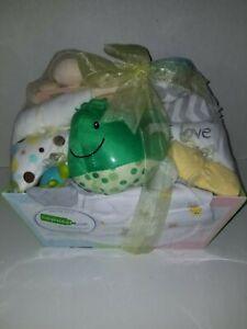 NEW Babybasket ,Baby Gift Basket-Neutral Sealed