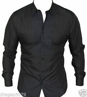 New Ben Sherman Mens Button Up Casual Shirt in Black Colour Size S