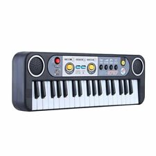 Mini Electronic Keyboard Piano Music Toy with Microphone Educational Electone