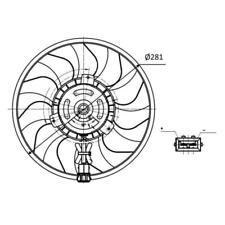 Ventilador Refrigeración Del Motor - NRF 47418
