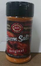 J&D's Original Bacon Salt 2.5oz All Natural Bacon Flavored Seasoning Spice Rub