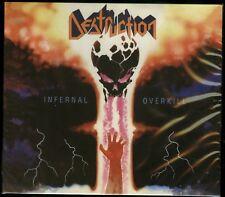 Destruction Infernal Overkill CD new 2018 Reissue High roller slipcase