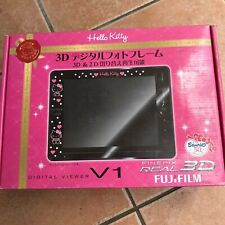 Pellicola Fuji Sanrio 2D 3D Digital Photo Frame Hello Kitty Nero Immagine Flame