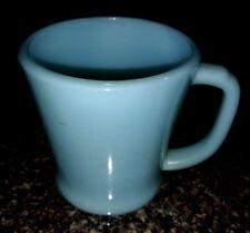 Vintage Anchor Hocking Fire King Turquoise/Baby Blue Mug