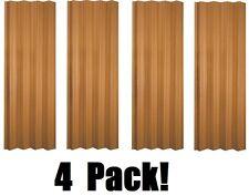 "(4) ea LTL Home VS3280KL 32-36"" x 80"" Oak Finish Folding Accordion Vinyl Doors"
