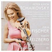 PETER ILYICH TCHAIKOVSKY: VIOLIN CONCERTO IN D, OP. 35 USED - VERY GOOD CD