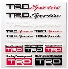 TRD Sportivo Mini Sticker Decal Set Toyota Vitz Yaris MR2 Celica