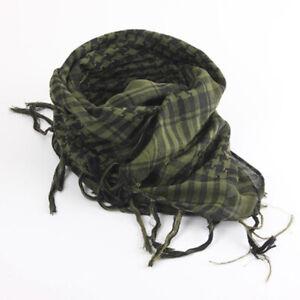 100% Cotton Shemagh Head Scarf - Military Wrap Desert Keffiyeh Arab Army New US