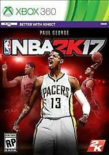 NBA 2K17 RE-SEALED Microsoft Xbox 360 GAME 2017 17 BASKETBALL