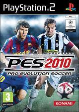 PRO EVOLUTION SOCCER 2010 GIOCO PS2 NUOVO ITALIANO PES