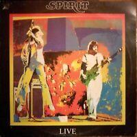 Spirit - Live (1979) Illegal Vinyl LP ILP 001 (UK)