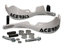 Acerbis Rally Pro Handguards Hand Protector Hand Protectors Kit White