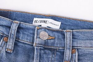 Levi's Re/Done Originals NWT Blue Jeans Size 27W High Rise Ankle Crop