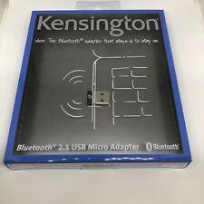 New in Sealed Box Kensington Bluetooth 2.1 USB micro adapter