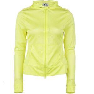REACTIVATE Full-Zip HOODIE Hood MESH Run WORKOUT Gym SWEATSHIRT Girl WOMEN sz XS