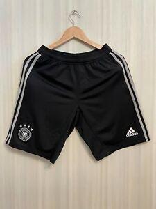 5+/5 Deutschland 2018/2019 pre-match Sz S Germany shorts soccer football Adidas