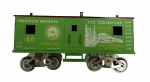 McCoy 1000-74 National TCA Train Standard Scale Green Convention Supply Car 1974