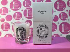 """Diptyque Paris 1.23 OZ/35g Mini scented Candle """"ROSES"""" NIB"""
