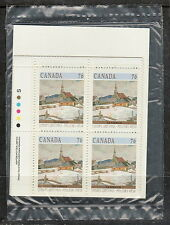 CANADA #1258 76¢ Christmas Winter Landscapes Sealed Plate Blocks MNH