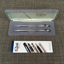 Quill pen pencil set new Omni name and logo  New in box Made in USA