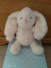 WH Smith. Small Cream Bunny Rabbit Comforter. Soft Toy ⭐
