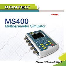 "3.5"" Touch screen Multiparameter Simulator ECG,Respiration,Temp,IBP CONTEC MS400"