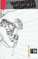 WONDER WOMAN #7, CHIANG 1:25 SKETCH VARIANT, New, First print, DC Comics (2012)
